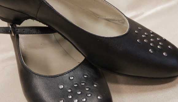 Sieviešu ādas kurpes