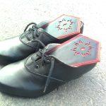 Sieviešu ādas kurpes igaunijas tautas tērpam 5