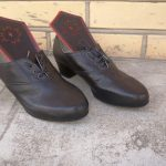 Sieviešu ādas kurpes igaunijas tautas tērpam 6