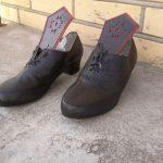 Sieviešu ādas kurpes igaunijas tautas tērpam 7